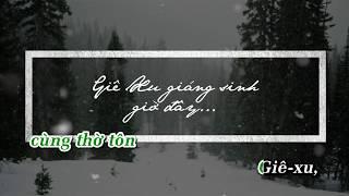 ( Karaoke ) CHÚA VUI XUỐNG TRẦN GIAN - nhạc Giáng Sinh / Beat Isaac Thái ft Hoàng Đức
