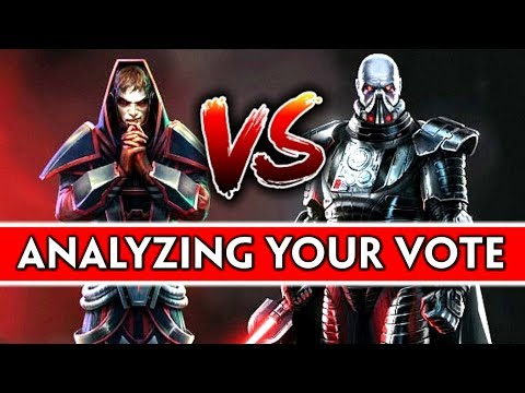 SWTOR: Analyzing Which Classes/Genders People Voted For + Bonus Question