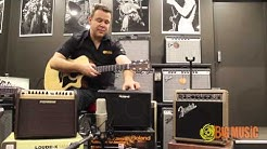 Fishman Loudbox Mini v Roland AC33 v Fender Acoustasonic 15 | Product Shootout