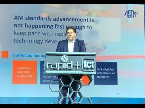 Mohsen Seifi on Additive Manufacturing Center of Excellence at RAPID + TCT Event