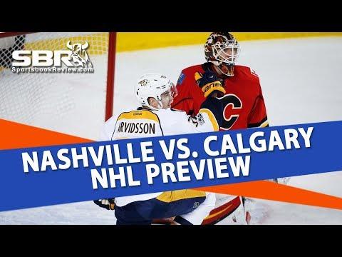 NHL Betting | Nashville Predators vs Calgary Flames Preview | Ice Guys