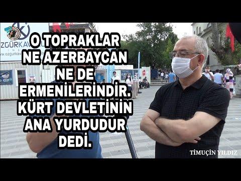 KÜRT VATANDAŞINDAN AZERBAYCAN VE ERMENİSTAN HAKKINDA İLGİNÇ İDDİALAR - AZERBAYCAN TÜRK'TÜR ! - BURSA