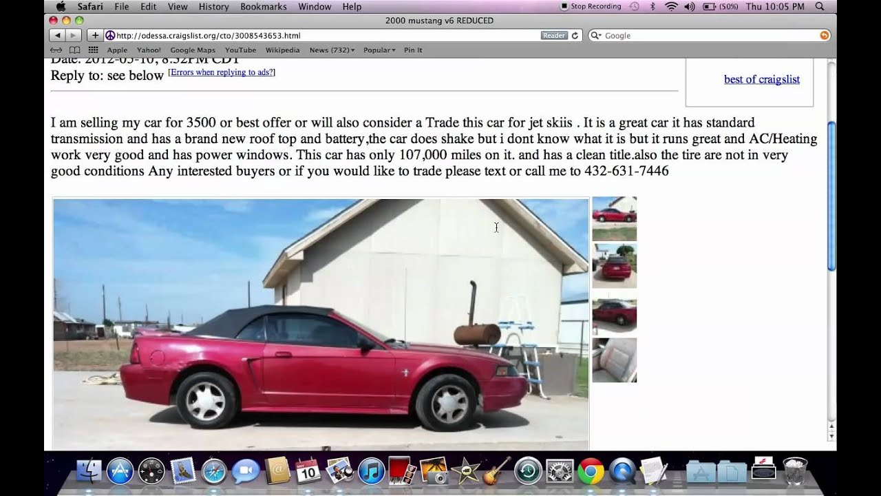 Used Cars Midland Tx >> Craigslist Midland Texas Finding Used Cars And Trucks Under 4500 In 2012