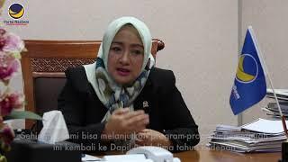 dr. Anarulita Muchtar, Anggota DPR RI Fraksi Partai NasDem