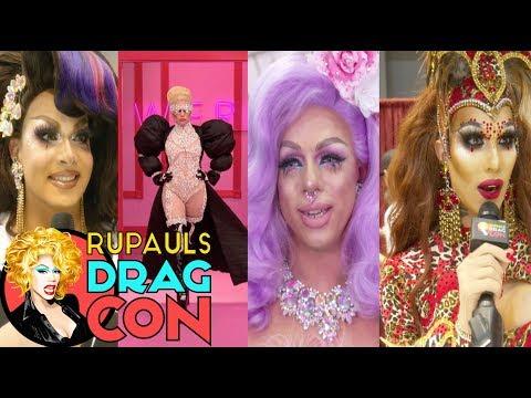 Oh My Gaga! Season 9 Queens React at RuPaul's DragCon 2017
