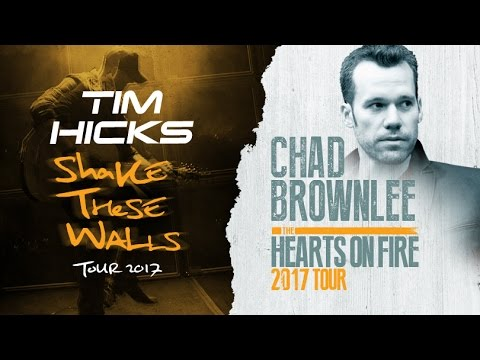 "Chad Brownlee's ""Hearts On Fire"" Tour Collides with Tim Hicks in Western Canada!"