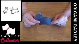 Radley Dog Origami Instructions - Make Your Own Radley !