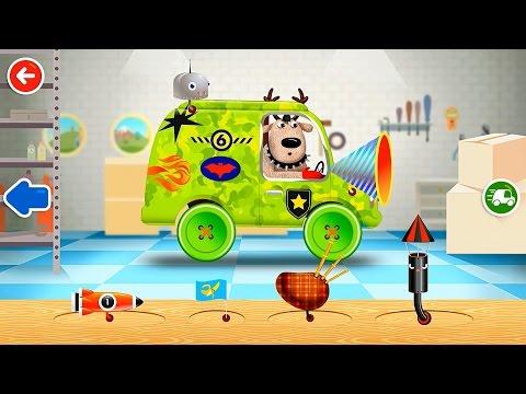 Pepi Garage Пепи Гараж Создаем машину и Путешествуем по Игре Полное прохождение