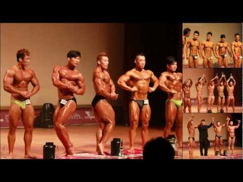 Musclemania Fitness Model 2012 Seoul South Korea Mens Competition Highlights