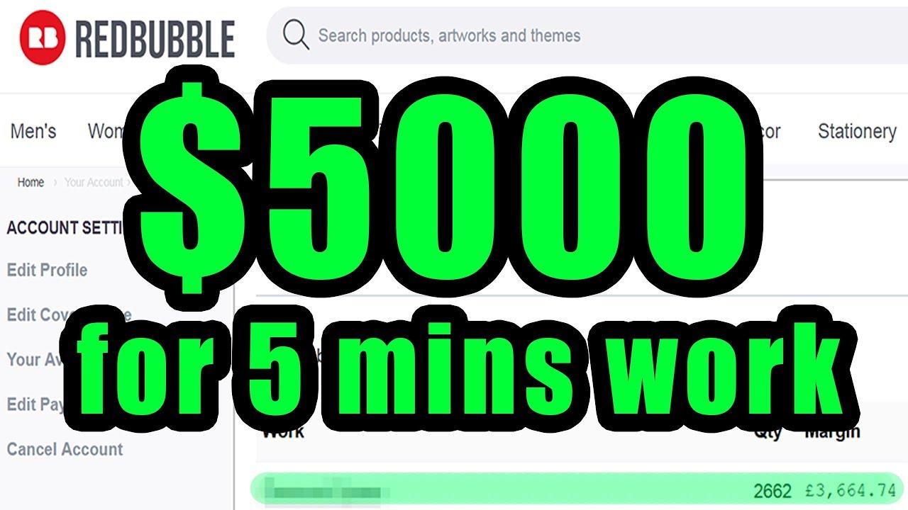 Redbubble Vs Teepublic For Passive Income Youtube