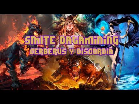 SMITE Datamining / Nuevos Dioses Discordia y Cerberus