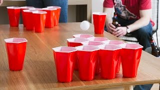 The red party cup gets a beer pong update.