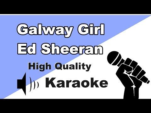 🔴🎤Ed Sheeran - Galway Girl - Instrumental/Karaoke Universe HD🎤🔴