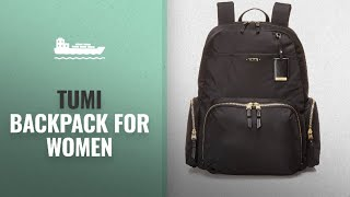 Top Tumi Backpack For Women [2018]: Tumi Womens Voyageur Calais Backpack, Black