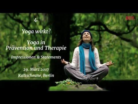Yoga wirkt? Yoga in Prävention und Therapie