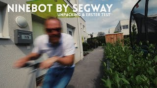 Video NINEBOT Kickscooter ES2 by SEGWAY - Unboxing & erster Test [WERBUNG] download MP3, 3GP, MP4, WEBM, AVI, FLV September 2018