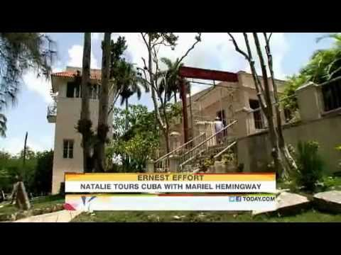 TODAY   Mariel Hemingway's visit to her Grandfather's home in Cuba with Natalie Morales