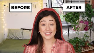How I Gave My Friends Studio Apartment A Complete Makeover For Under 400 Dollars