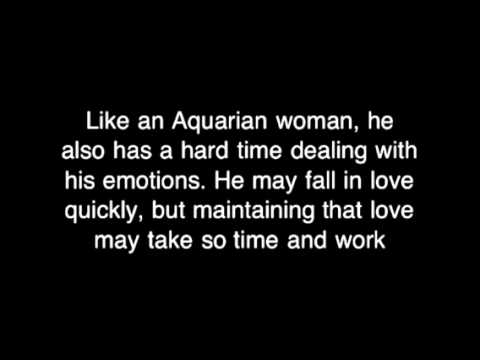 Love Man If Do Is In You How Know Aquarius fixed steep