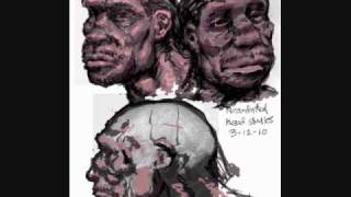 Neanderthal Head Sketches From Photos of Skulls speedpainting.wmv