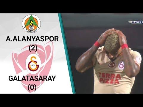 Alanyaspor 2 - 0 Galatasaray (Ziraat Türkiye Kupası Çeyrek Final İlk Maçı)