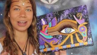 The Eye Of Horus Meaning and The Divine Goddesses ~ Francesca Love Artist