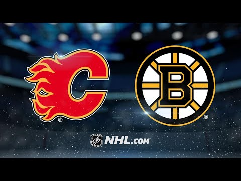 Nash, Bergeron score twice to lead Bruins past Flames