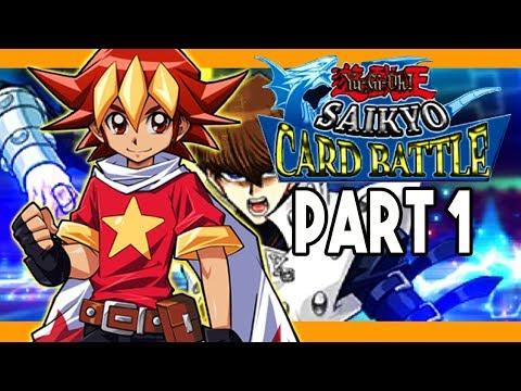 Yugioh Saikyo Card Battle 3DS English Part 1 PHANTOM RARE CARD Gameplay Walkthrough
