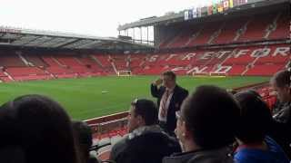 Old Trafford - stadium tour