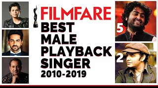 Download lagu Every Filmfare Best Male Playback Winner 2010 2019 Arijit Singh Mohit Chauhan MP3