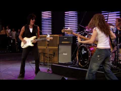 Jeff Beck - Cause We Ended as Lovers - live 2007 (w/ Tal Wilkenfeld, Vinnie Colaiuta) (Best Quality)