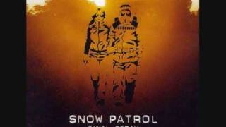 Snow Patrol - We Can Run Away Now They