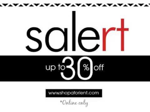 Orient Textile - Sale alert up to 30% off