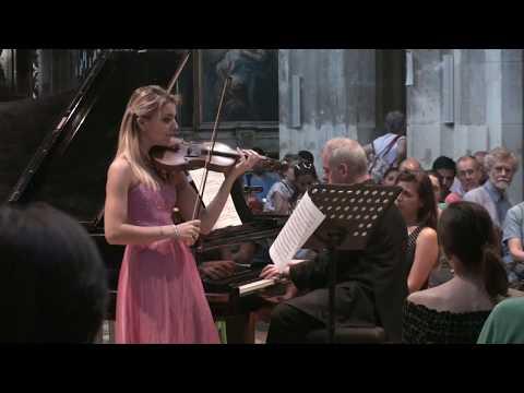 Milas/Giraud - Mozart Sonata for Violin and Piano in B flat major K.454