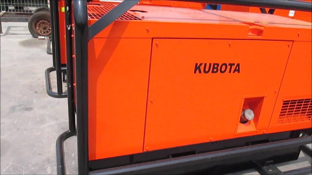 Kubota Generator Set 30Kva