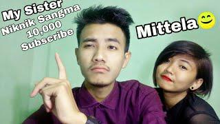 1 Hours:Live Stream |Niknik Sangma |10,000 Subscribe (Mittela)