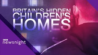 Britains Hidden Childrens Homes Teens in care far from home  BBC Newsnight