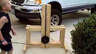 Jwolski.com Tennis Ball Floating Arm Trebuchet (2 Of 2)