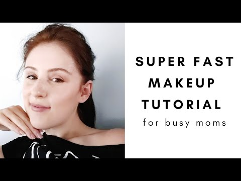 Busy No Makeup Makeup | Nude Makeup | Quick On The Go Makeup Tutorial |  Simple Easy Day Time Look thumbnail