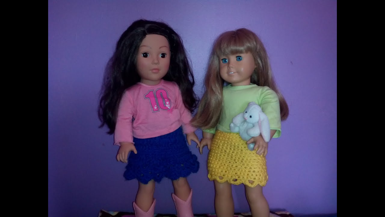 Doll Skirt - Free Crochet Pattern– Maggie's Crochet   720x1280