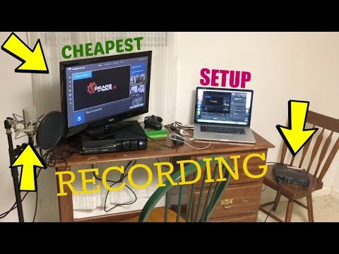 Cheapest Recording SETUP! (Gameplay/Commentary)