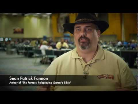 Sean P. Fannon talks about his experience with role-playing games.