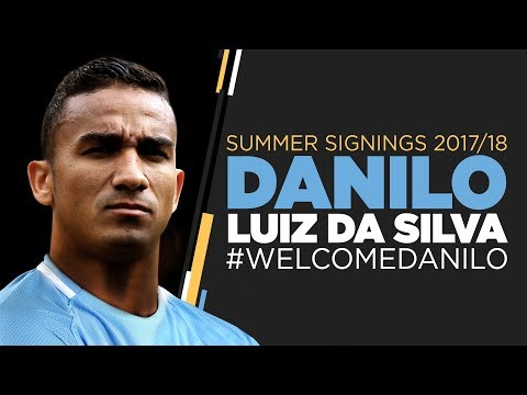 DANILO SIGNS FOR MAN CITY | FIRST INTERVIEW