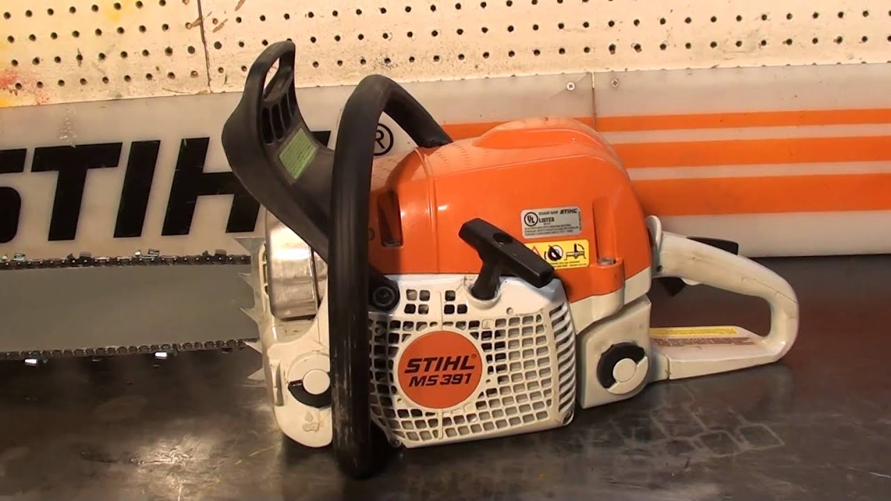 The Chainsaw Guy Shop Talk Stihl Ms 391 2 16 Youtube Fuel Filter Repair