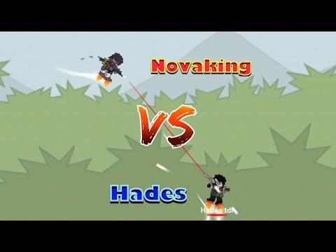 DA2 Mini Militia:Novaking vs Hades