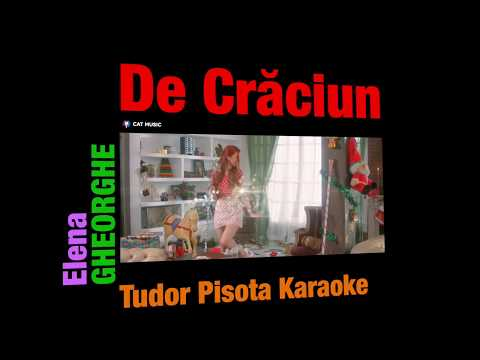 De Crăciun - Elena Gheorghe - Instrumental / Karaoke - (remake)