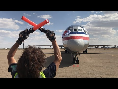After A 36-year Journey, American Airlines Flew Its Final MD-80 To The Boneyard