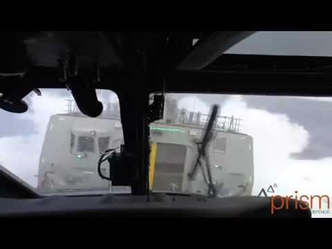 MH-60R SEAHAWK ROUGH SEA LANDING TEST