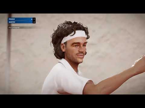Tennis World Tour 2 - First Online match!