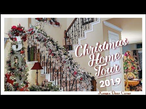 *New* Christmas Home Tour | Entire House Tour | Vlogmas 2019 | Kenya's Decor Corner